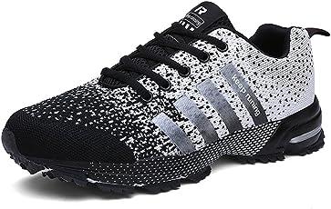 UBFEN Schuhe Herren Laufschuhe Gym Freizeitschuhe Sportschuhe Sneaker Atmungsaktive Turnschuhe Wanderschuhe Ultra-Light Mesh Running Wanderschuhe Outdoorschuhe