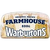 Warburtons Farmhouse White Bread, 800g
