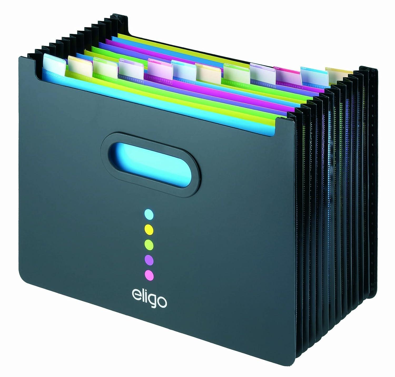 deskit locking file folder organizer expandable portable letter size accordion file box with - Accordion Folder