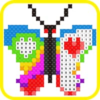 Stitch.io Coloring by Numbers Cross Stitch color game