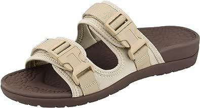 Everhealth Ortopediche Sandali Donna Peep-Toe Pantofole Sportivi Ciabatte da Spiaggia, Sandali per Sostegno dell'Arco Plantare e Riduzione delle Fasciti Plantari