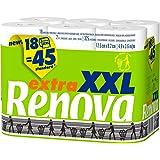 RENOVA Papel Higiénico Extra XXL - 18 Rollos XXL equivalentes a 45 Rollos Estándar (200050323)