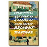 Great Things by Vincent Van Gogh Fridge Magnet/Multipurpose Magnet for Home/Kitchen/Office by Seven Rays