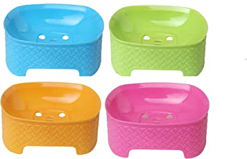 CSM Soap Case Soap Dish Set of 4 pcs Color May Vary