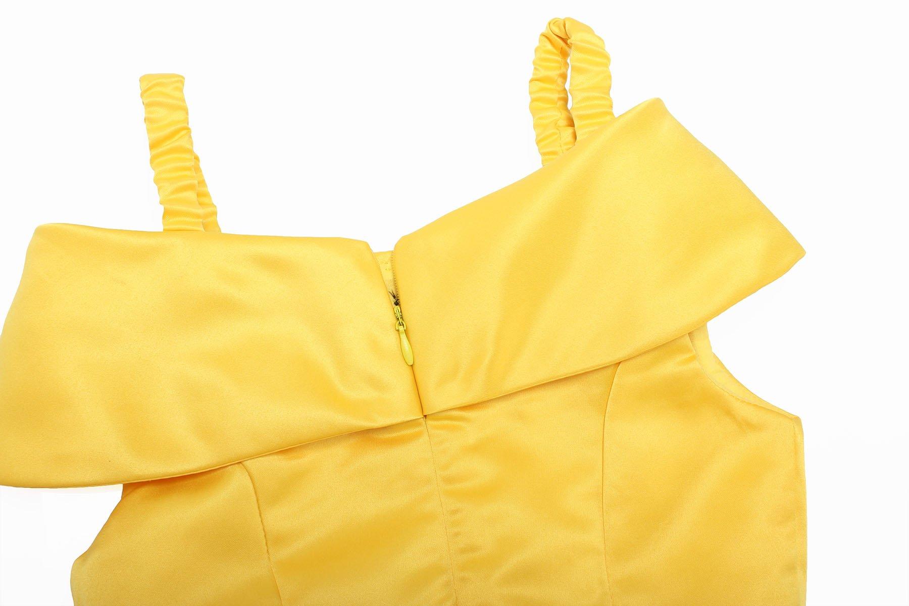 ReliBeauty Girls Dress Belle Cosplay Costume Ragazza Vestiti Abito Principessa Disney Costumi Vestire 4 spesavip