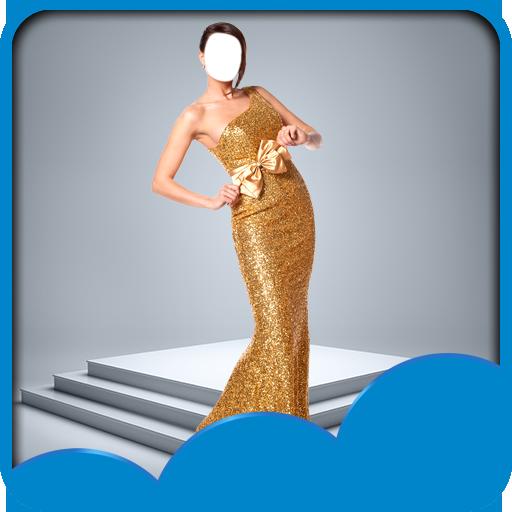Frauen Mode Foto Montage - Plüsch-schals
