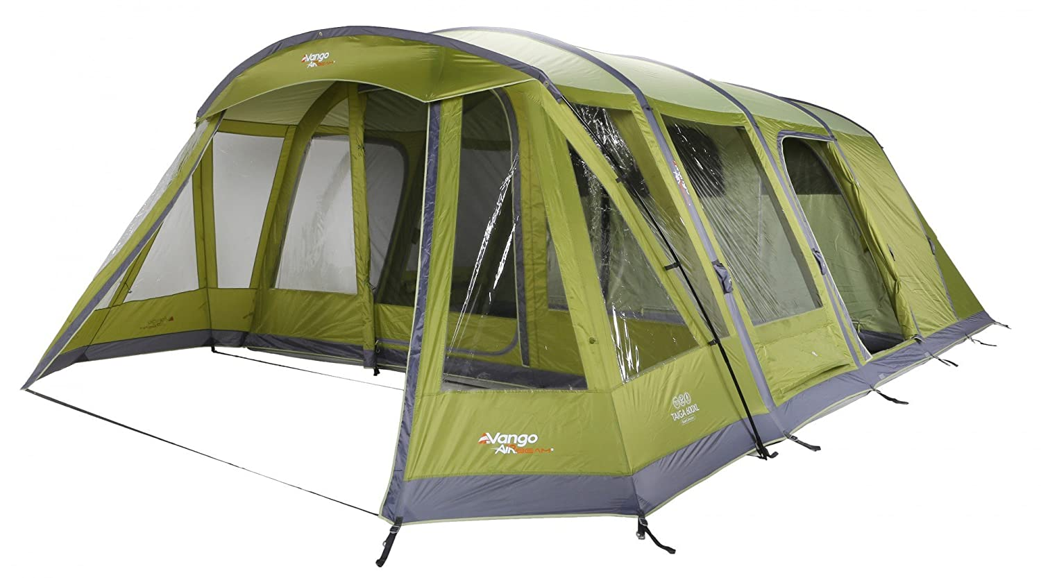 Vango Taiga 600XL 6 Man AirBeamTent Herbal Amazon.co.uk Sports u0026 Outdoors  sc 1 st  Amazon UK : used outwell tents - memphite.com