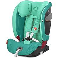 GB GOLD Everna-Fix Seggiolino Auto per Bambini, per Auto con Isofix, Gruppo 1/2/3, 9 - 36 kg, dai 9 Mesi ai 12 Anni…