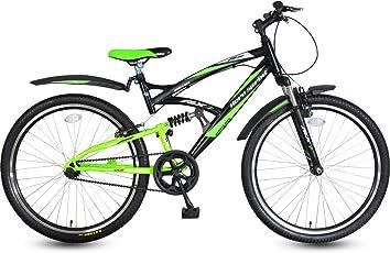 Hero Black & Green Adult Cycle