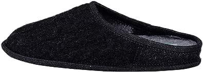 Le Clare Nuvola Treccia - Pantofola Invernale Donna in Lana Intrecciata con Plantare Estraibile