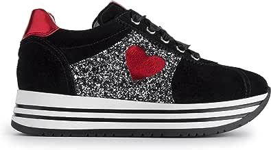 Nero Giardini Sneakers Bassa Ragazza A931180F/100