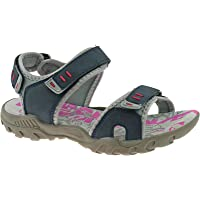 WOMENS SPORTS WALKING HIKING TOUCH FASTNING FLAT COMFORT SANDALS SIZE 4 - 8 UK