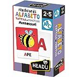 Headu - Flashcards Alfabet Tactile en Phonetisch, IT23752