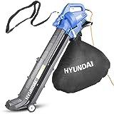 Hyundai 3 in 1 3000W Electric Leaf Blower, 45L Bag, Vacuum & Shredder, 3 Year Warranty, Lightweight & Powerful, 12m Cable, Va