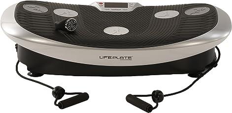 LIFEPLATE vibration technology Vibrationsplatte 3.1 mit vertikal oszillierender Vibration - niedrige Trainingsfrequenzen - Handgelenk-Fernbedienung - Laufsimulation.