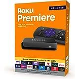 Roku - Premiere 4K Streaming Media Player - Black