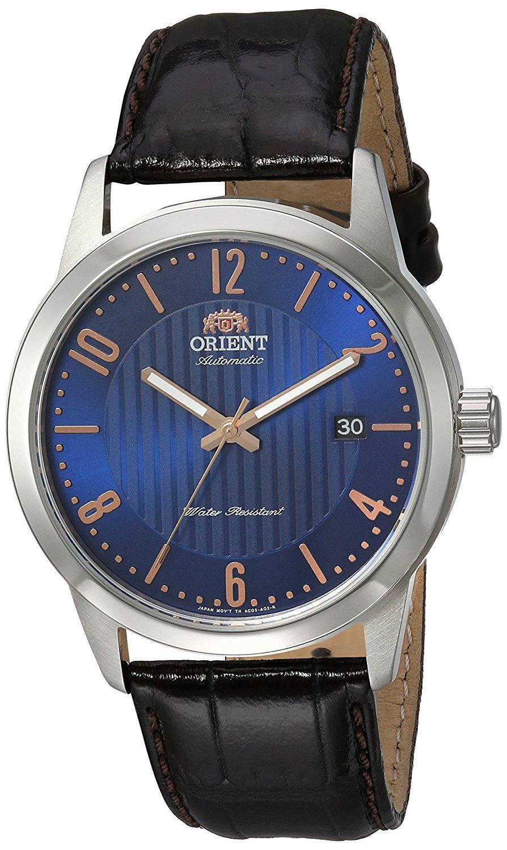 Orient Reloj Analógico para Hombre de Automático con Correa en Cuero FAC05007D0