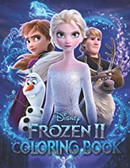 FROZEN 2 Coloring Book: AWESOME 24 Illustrations