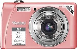 Rollei Flexline 200 Digitalkamera 3 Zoll Rosa Kamera