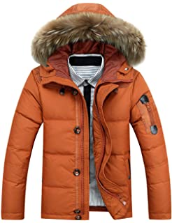 ZSHOW Homme Blouson d'hiver Matelassé Manteau d'hiver à