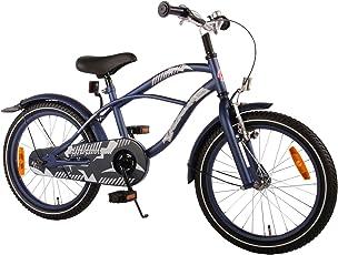 18 Zoll Kinderfahrrad Kinder Jugenfahrrad Jugend Fahrrad Beach Cruiser Bike Rad Rücktrittbremse 61813 Blau
