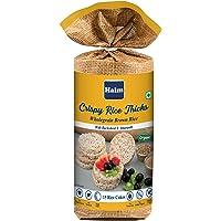 HAIM Organic Crispy Rice Thick Wholegrain Brown Rice Cakes with Buckwheat & Amaranth (Vegan, All Natural, Gluten Free…