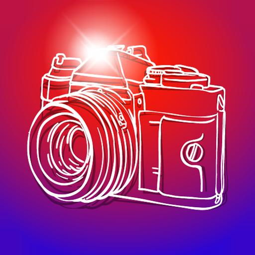 Kamera Foto Cartoon-Effekt (Foto Kameras,)