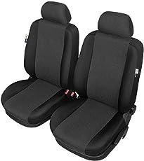 ZentimeX Z976968 Sitzbezüge Vordersitze Stoff schwarz Airbag-Kompatibel