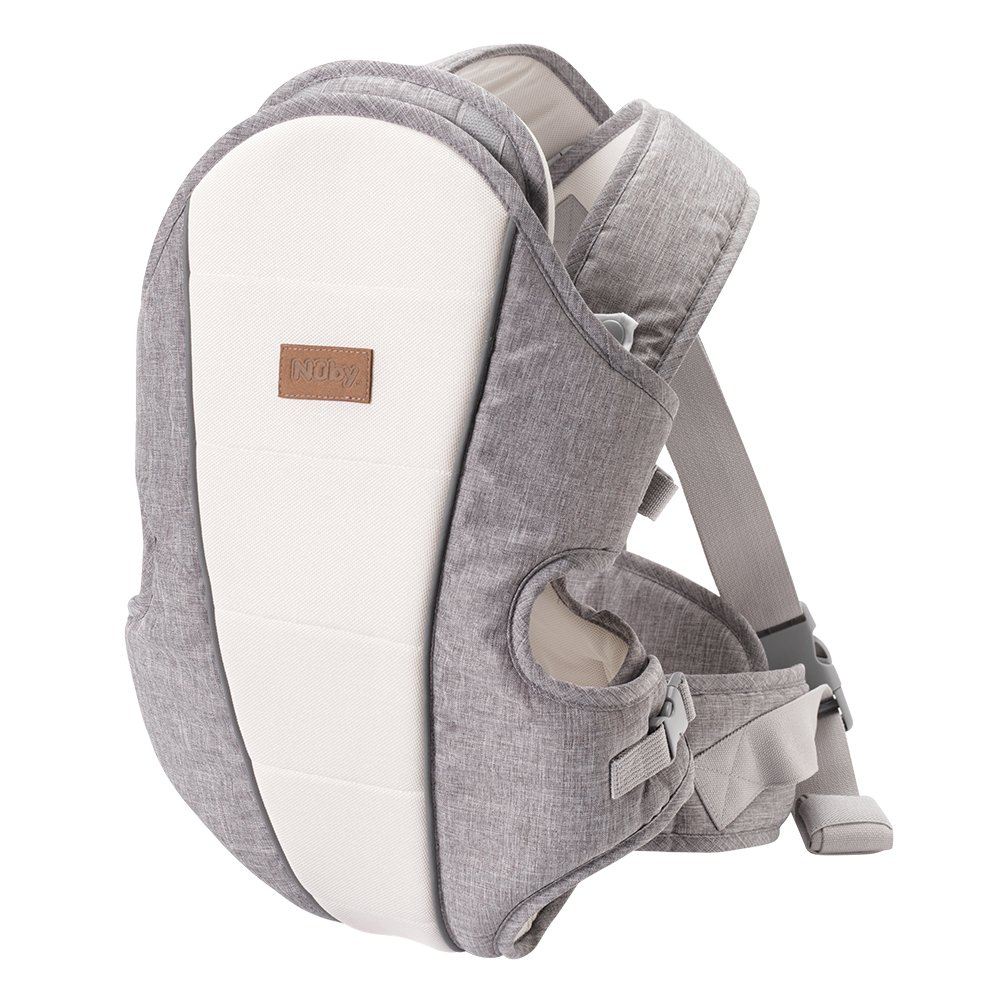 Grey Baby Wrap Sling Organic Stretchy Premium Carrier Bag and Full Colour Instruction Booklet UK//EU Safety Tested Made in The UK by Joy and Joe /® with Hat Suitable from Birth to 16Kg
