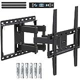 Amazon Brand – Eono Supporto TV Parete Girevole Inclinabile, Staffa TV per Molti Televisori da 26-55 Pollici a LED, LCD, OLED