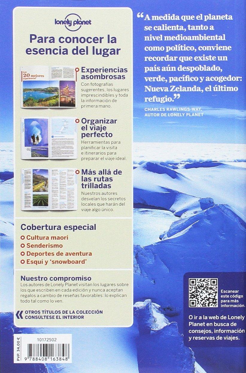 Nueva Zelanda 5: 1 (Guías de País Lonely Planet) [Idioma Inglés] 1