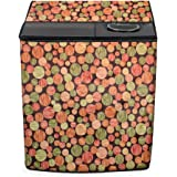 Stylista Washing Machine Cover Compatible for LG 8 Kg 5 Star semi Automatic Top Loading P8035SPMZ Interlocked Ropes Pattern G