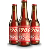 Cerveza 1906 Red Vintage Cerveza - Pack de 24 botellas x 330 ml - Total: 7.92 L