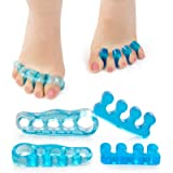 Gel Toe Separator Toe Stretcher - RAGZAN Hammer Toe & Bunion Corrector for Men and Women, Correct Your Toes Naturally