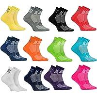 Rainbow Socks - Ragazza Ragazzo Sportive Calze Antiscivolo ABS di Cotone