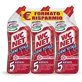 Wc Net - Igiene Totale Gel per Sanitari e Superfici, Pulitore Liquido per Wc, 700 ml x 3 confezioni