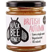 British Autumn Honey - 100% Pure and Natural, Single-Origin British / UK Honey (227g Glass jar)