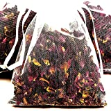 SANDALWOOD VANILLA & FRENCH MUSK 4 x Scented Potpourri Sachets & BONUS 12ml Booster Fragrance Oil