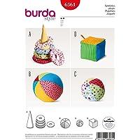 Burda 6561 Patron de couture conique avec anneaux, boule et dés pour enfants
