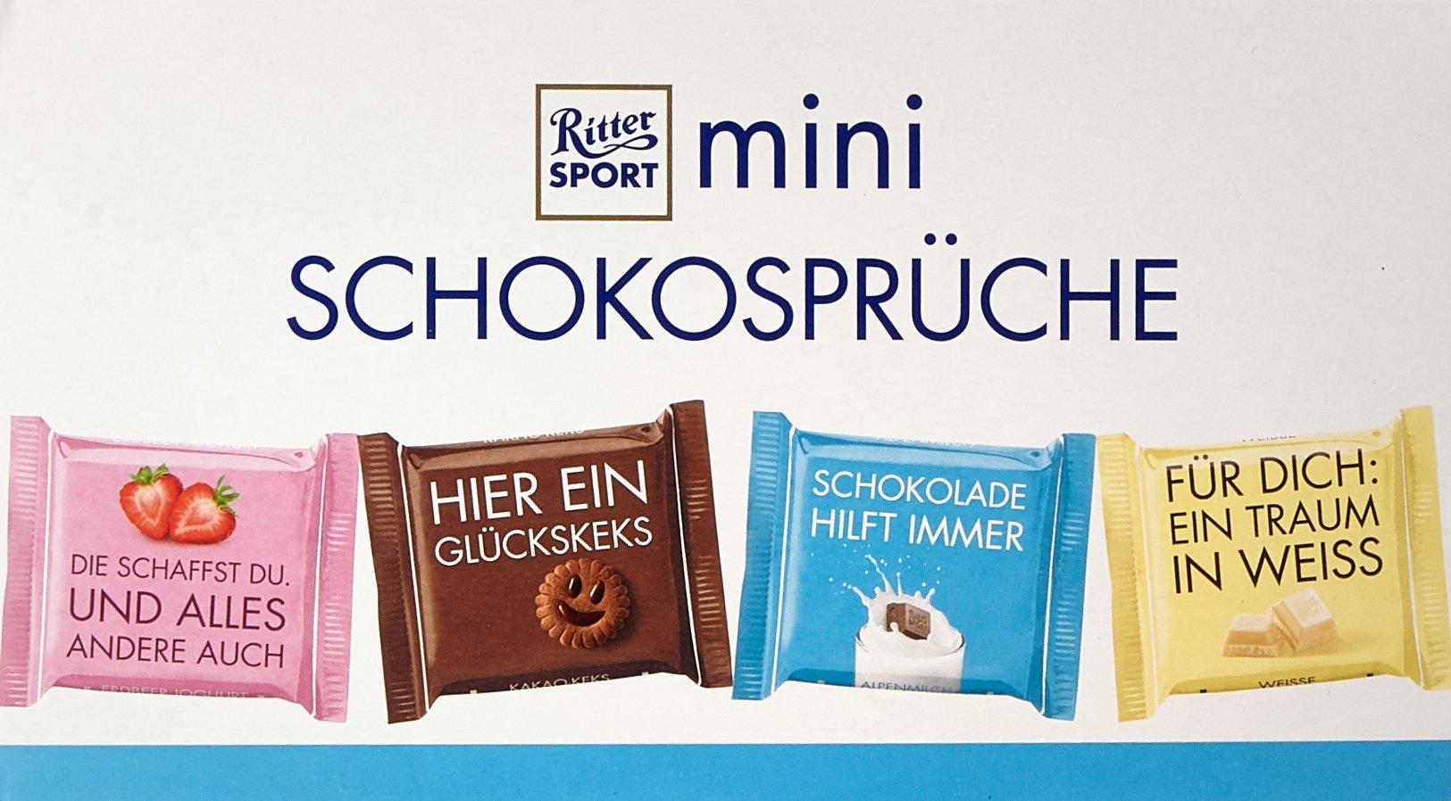 Ritter Sport mini Schokosprüche, 84 x 16,67 g