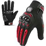Guantes de Moto,Pantalla-Táctil Ciclismo-Guantes-Hombre - para Carreras de Moto,Motocross,Bicicleta de Montaña,Actividades al