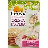 Céréal Crusca D'Avena, avena istantanea, mix avena colazione o per pancake, ricca in fibre formato richiudibile - 400 g