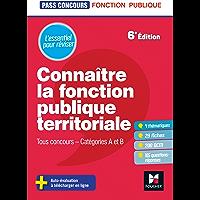 Pass'Concours - Connaître la Fonction publique territoriale cat. A et B - Révision et entrainement
