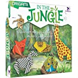 Toykraft: Origami in The Jungle - Craft Activity Kit for Kids Aged 5 Years to Adults