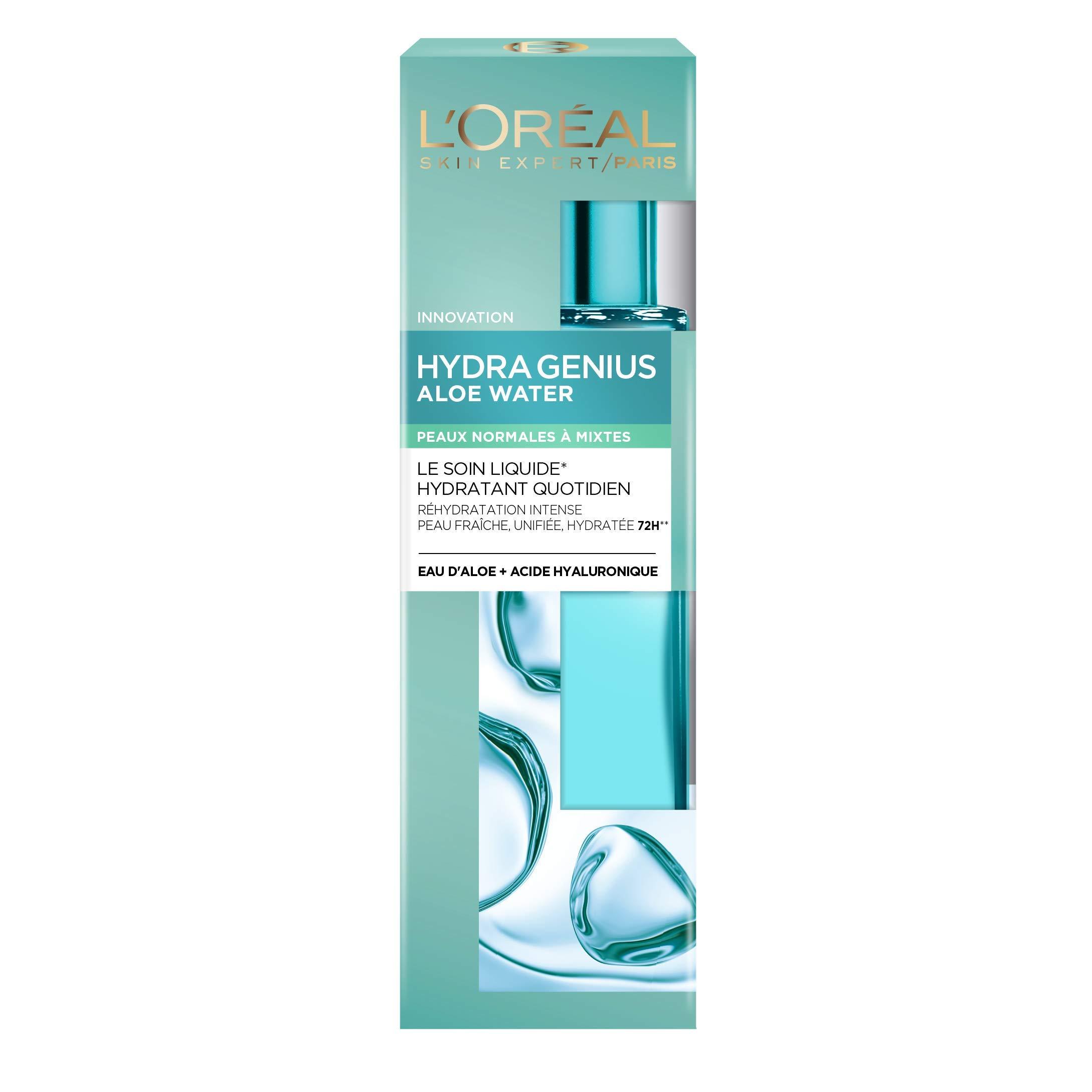 L'Oréal Paris Hydra Genius: fluido hidratante para la piel del rostro