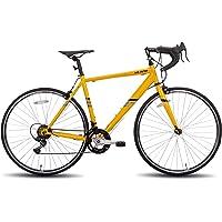 Hiland Rennrad 700c Rennrad Stahl City Commuter Fahrrad mit 14 Geschwindigkeiten