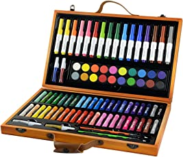 CONDA and Kiddy Color Deluxe 85 Piece Art Set for Children, 10