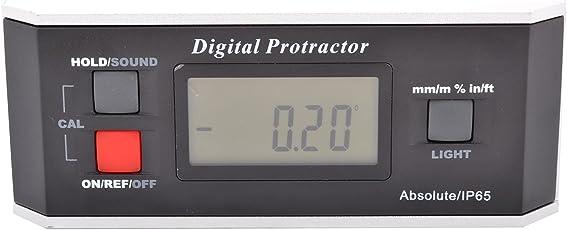 MGW Precision AP360 Digital Angle Protractor 0-360?, Black