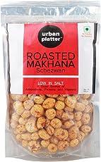 Urban Platter Roasted Makhana, Schezwan, 100g