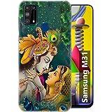Fashionury Back Cover for Samsung Galaxy M31 (Silicone|Multi-Coloured)